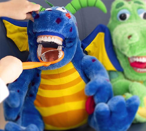 Kinder Zahnarzt Handpuppen